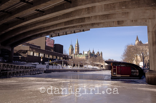 Rideau Canal - almost ready for skaters! #OttGatLove