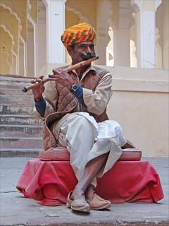 Image of Mehrangarh near Jodhpur. rajasthan inde jodhpur flûte mehrangarh rajpout rajput bansuri dalbera musiqueindienne