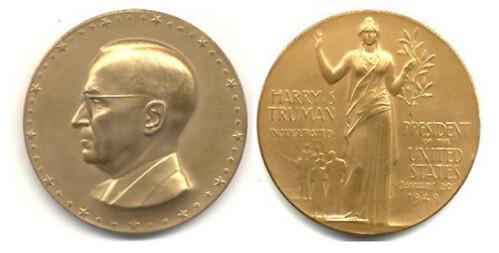 Harry Truman Inaugural medal