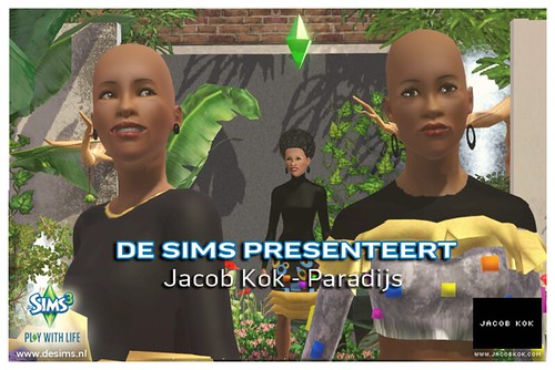 Jacob Kok in game Paradijs dubbel