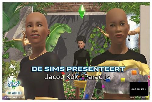 Jacob Kok in game Paradijs dubbel