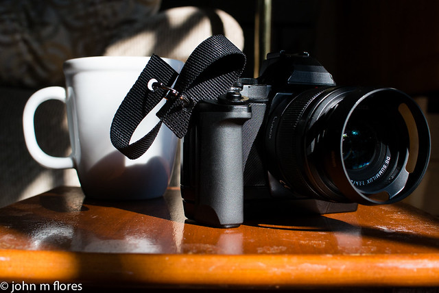 Coffee and Camera. What else do you need?