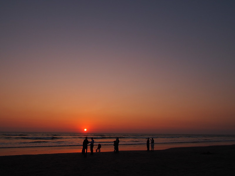 Sunset in Cox's Bazar
