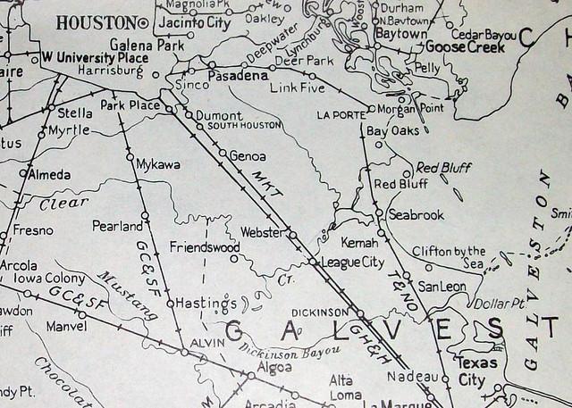 maps of houston texas