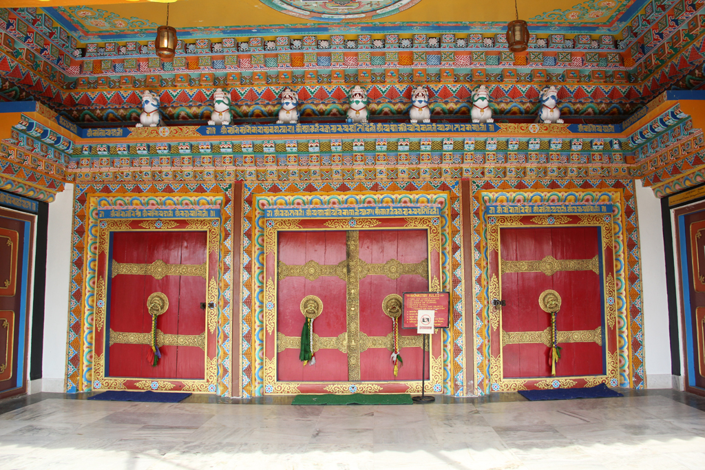 Entrance to the main temple