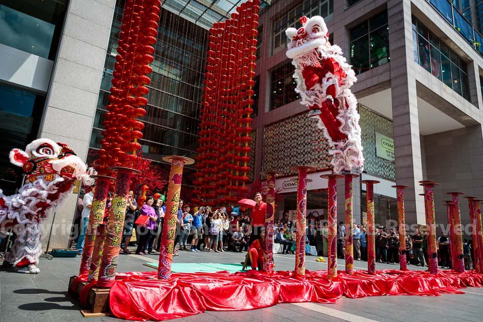 Lion Dance @ Pavilion, Kuala Lumpur, Malaysia