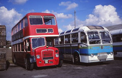 Lockwoods Foods staff transport, Long Sutton (1977-82) (c) David Bell