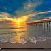 Early Morning Glow Juno Beach Florida by Captain Kimo