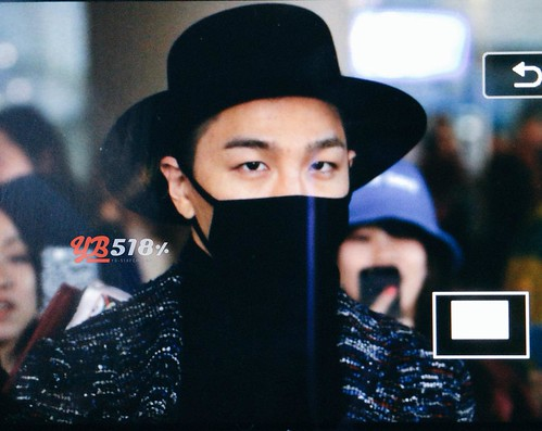 Big Bang - Incheon Airport - 22mar2015 - Tae Yang - YB 518 - 01