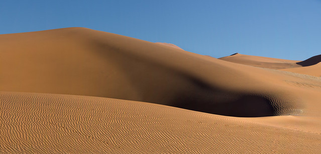 The Soft Sands Of Namibia