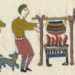 What are we having for dinner, by Stamford Bridge Tapestry Project
