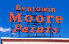 Benjamin Moore Sign