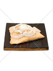 Fish Fillet Isolated on White