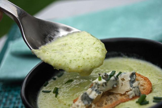 Soupe de brocoli et Stilton