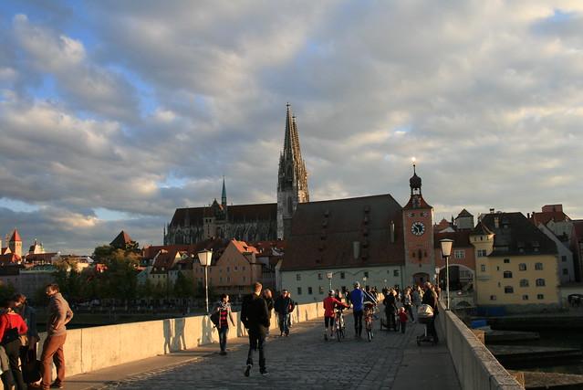 Ponte de Pedra - Stone Bridge - Steinerne Brücke, Regensburg