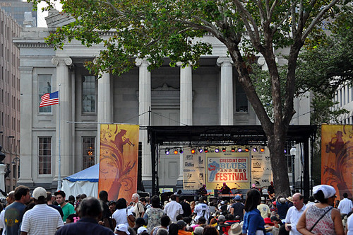 Stage at Blues & BBQ Fest 2012