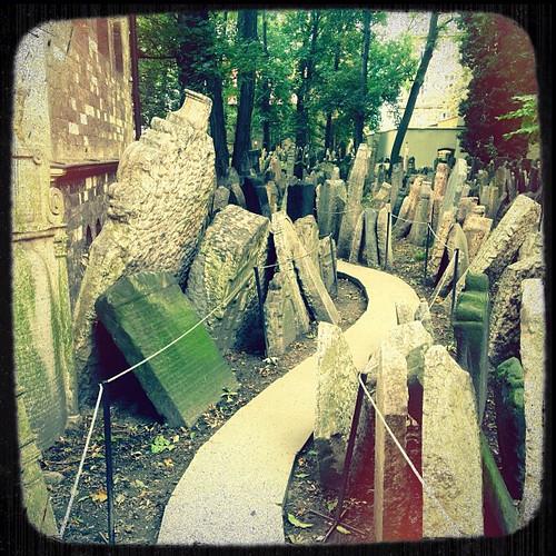 headstones upon headstones
