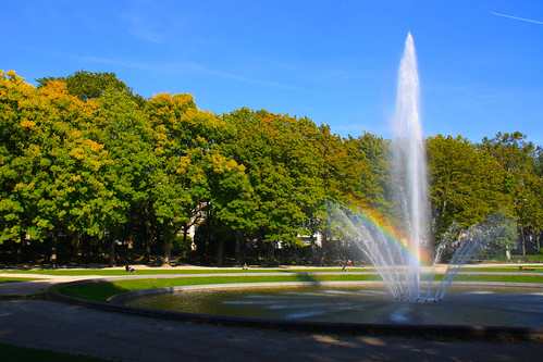 Jubel Park Fountain, Brussels
