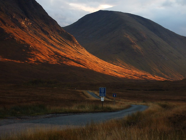 Sunset in Glencoe