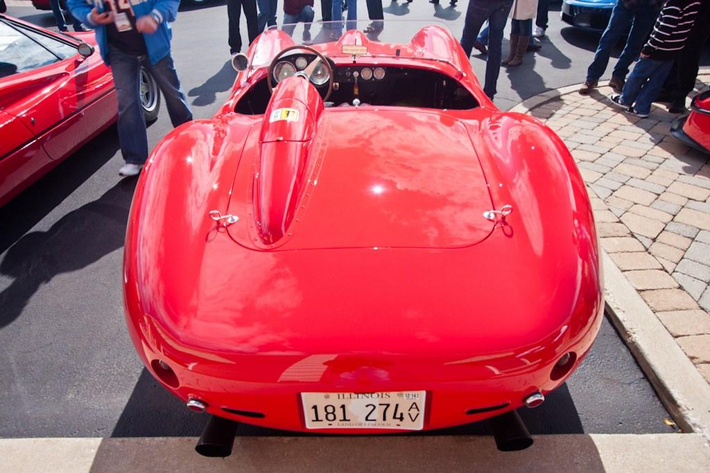 1957 Ferrari Testa Rossa Rear