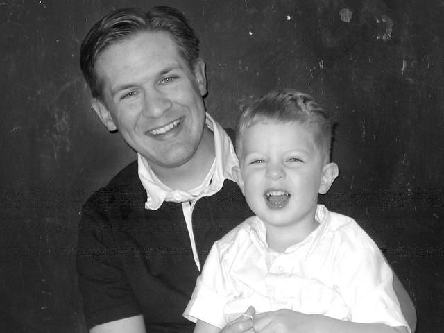 Dad & Alden