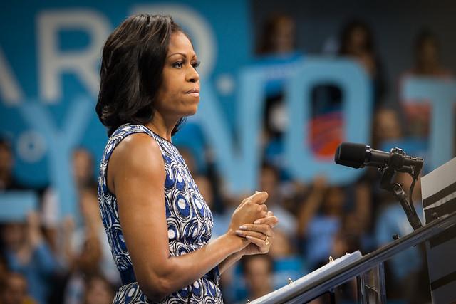 Michelle at UNC-7