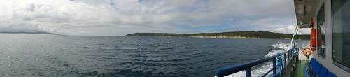 Panorama from the Rathlin Island Ferry