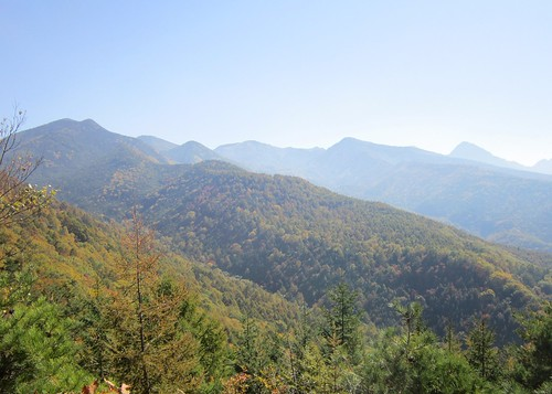 八ヶ岳連峰と紅葉 2012年10月16日10:45 by Poran111