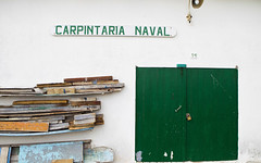 In a fishing village like Peniche, the local boat builder is a busy man.