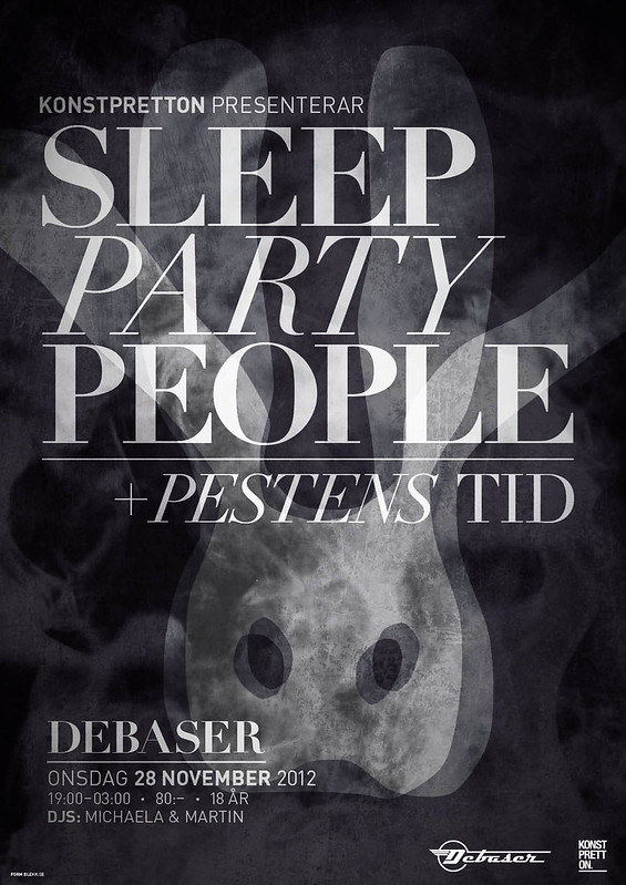 Sleep Party People poster