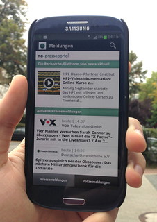 Android App Presseportal.de