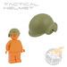 Tactical Helmet - Olive Green