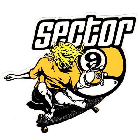 Sector 9 Ball Decal Sticker RD » A1 Decals