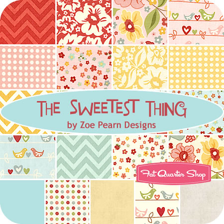 The Sweetest Thing ofr Friday's Fabric Giveaway with the Fat Quarter Shop!