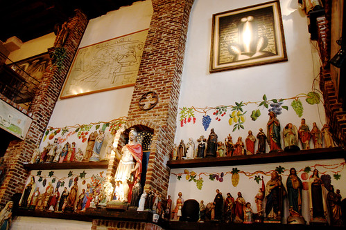 Crazy Religious Iconography Bar in Antwerp