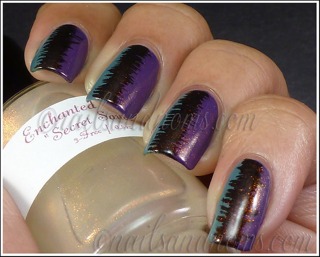 31DC2012 Day 6 Violet Nails - 8