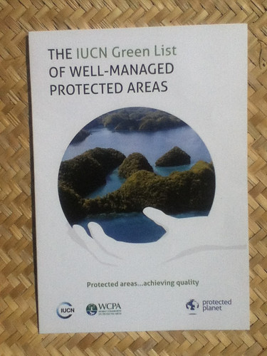 Cop11 Inventory: IUCN Green List of Well-managed protected areas
