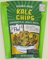 Trader Joe's Zesty Nacho Kale Chips