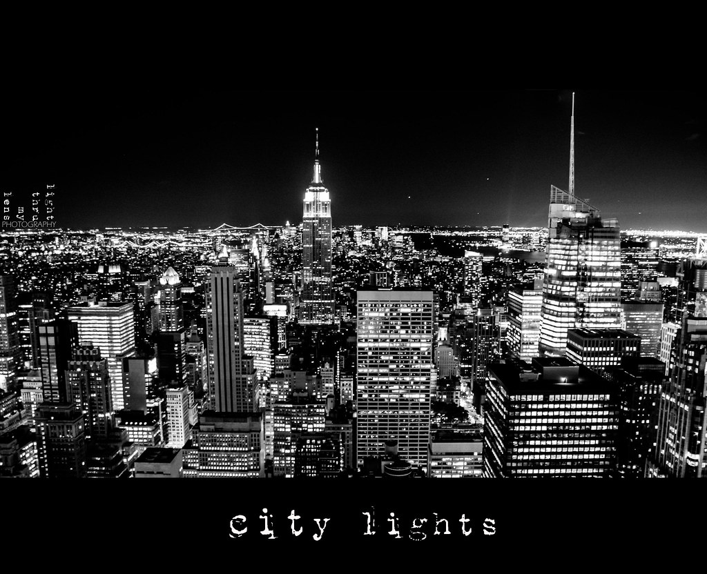 {black&white week, vol.2} : city lights [7/7]