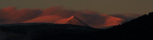 light sunset snow colors canon evening sigma rondane otta