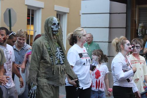 Charleston Zombie Walk 2012