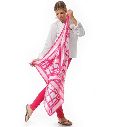 Breast Cancer Scarf 2012