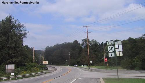 Harshaville PA