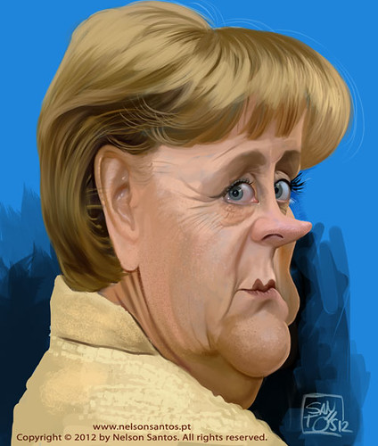 angela-merkel-caricature-by-nelson-santos by caricaturas
