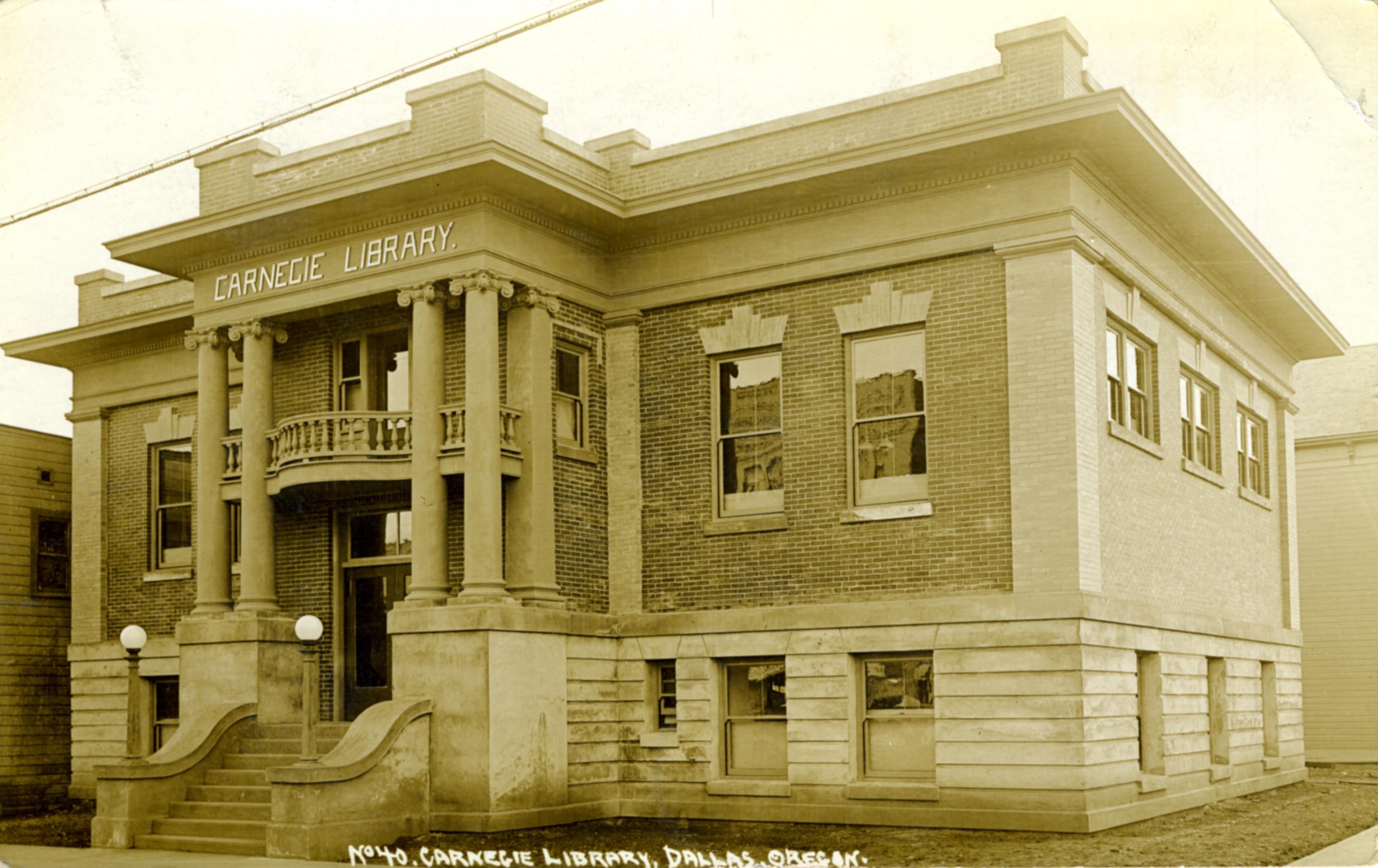 Carnegie Library in Dallas, Oregon