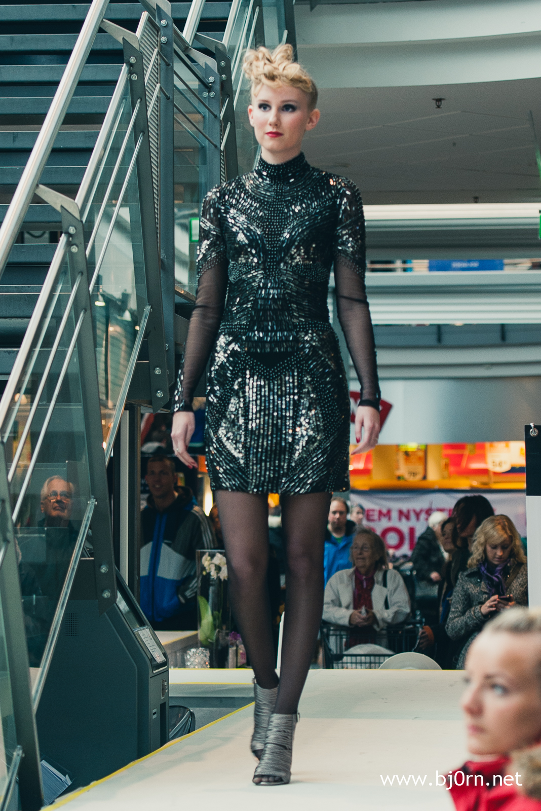 Fashion show at Solsiden Senter - October 2012