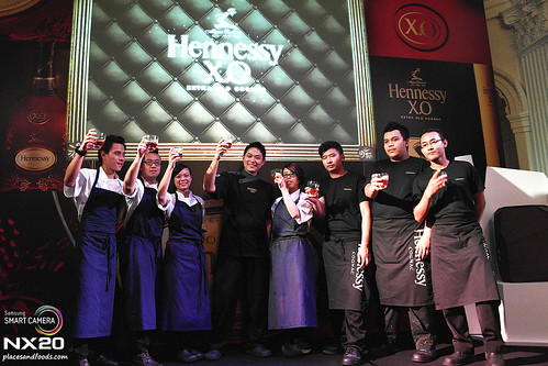 hennessy appreciation grows chef michael han
