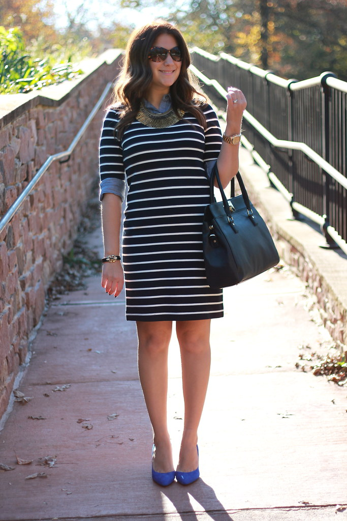 Stripes and Chambray Layers outfit