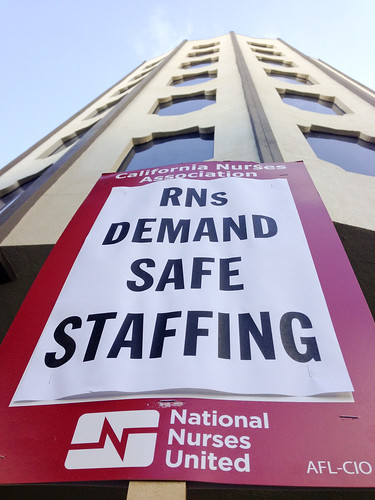 RNs demand safe staffing