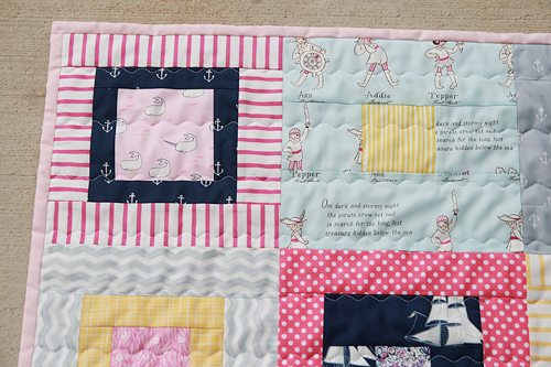 Baby Out to Sea Quilt